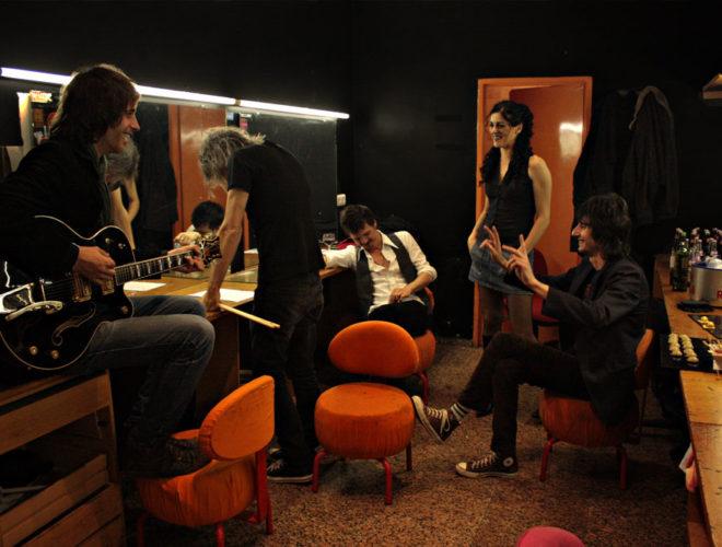 Nico, Dani, Coque, Laura y Mauro